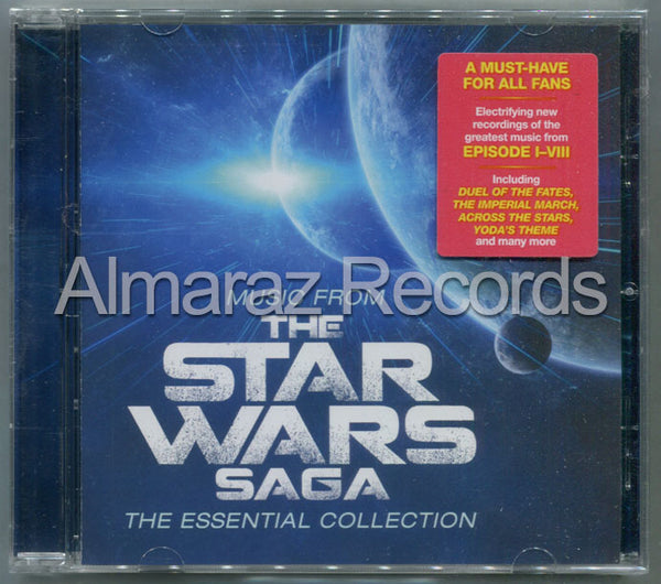 Robert Ziegler Music From The Star Wars Saga CD