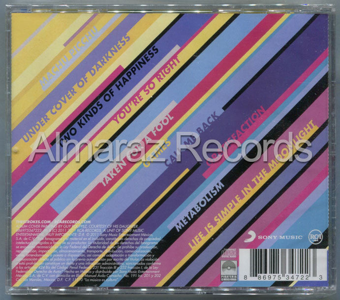 The Strokes Angles CD - Almaraz Records | Tienda de Discos y Películas  - 2