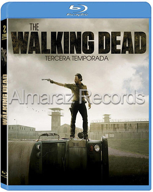 The Walking Dead Temporada 3 4Blu-Ray - Almaraz Records | Tienda de Discos y Películas