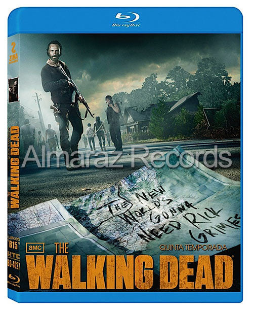 The Walking Dead Temporada 5 5Blu-Ray - Almaraz Records | Tienda de Discos y Películas