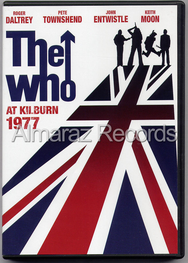 The Who At Kilburn 1977 2DVD - Kilburn 1977 Coliseum 1969 - Almaraz Records | Tienda de Discos y Películas  - 1