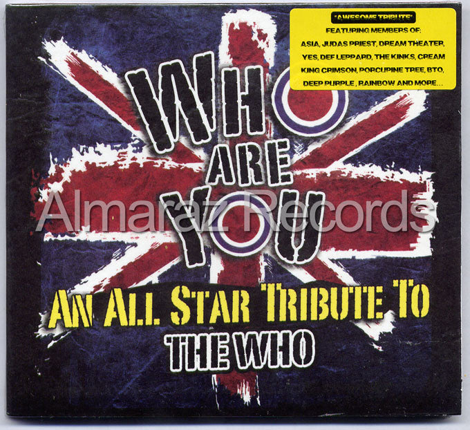 Who Are You An All Star Tribute To The Who CD - Almaraz Records | Tienda de Discos y Películas  - 1