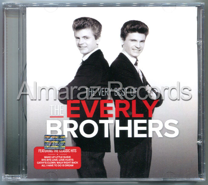 The Everly Brothers The Very Best Of The Everly Brothers CD - Almaraz Records | Tienda de Discos y Películas  - 1