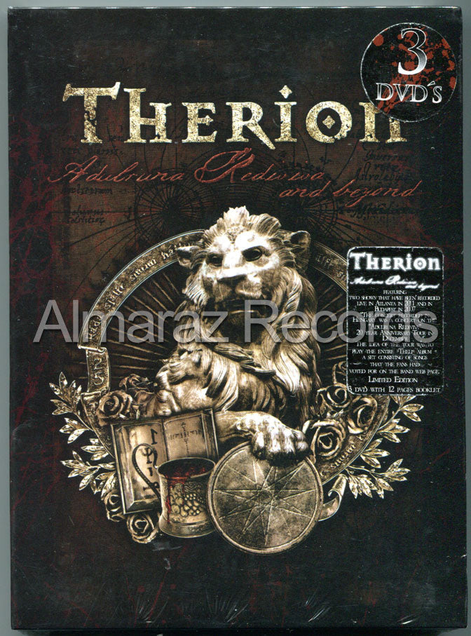 Therion Adulruna Rediviva And Beyond 3DVD - Almaraz Records | Tienda de Discos y Películas  - 1