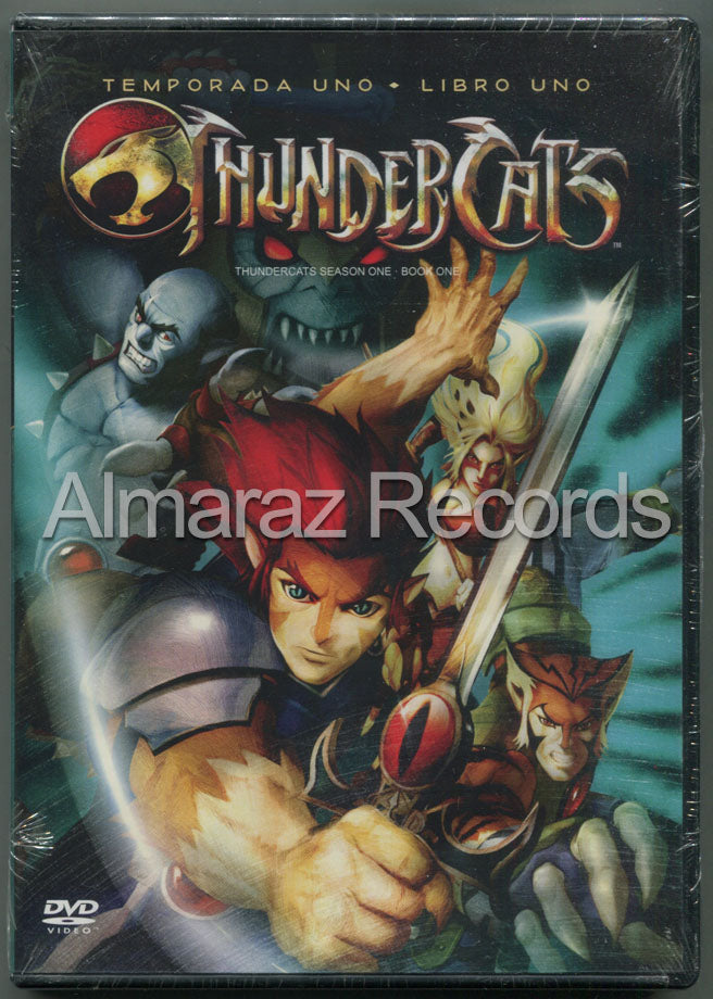 Thundercats 1 Libro 1 2DVD - Thundercats Season 1 Book 1
