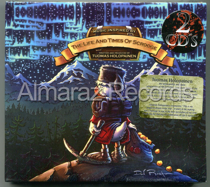 Tuomas Holopainen The Life And Times Of Scrooge 2CD - Almaraz Records | Tienda de Discos y Películas  - 1