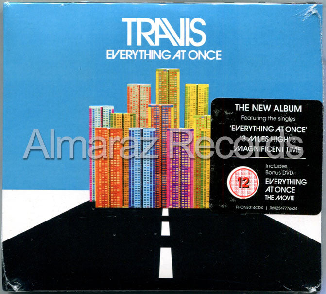 Travis Everything At Once CD+DVD - Almaraz Records | Tienda de Discos y Películas  - 1