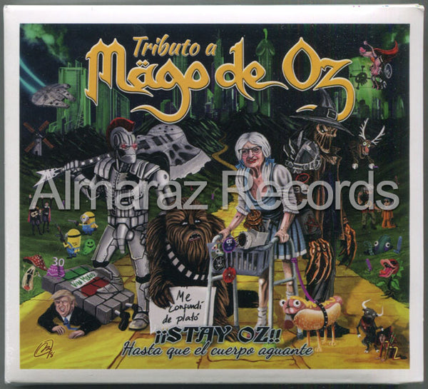 Stay Oz Tributo A Mago De Oz 2CD