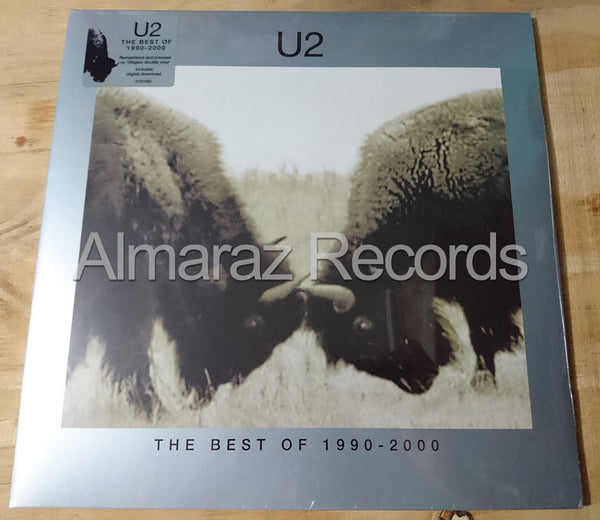 U2 The Best Of 1990-2000 Vinyl LP