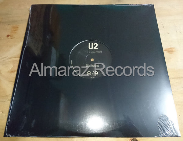 U2 The Blackout Vinyl Single 12""
