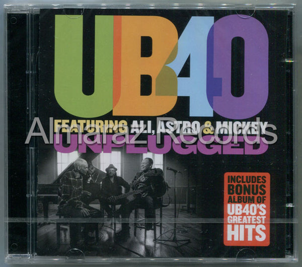 UB40 Unplugged & Greatest Hits 2CD - Almaraz Records | Tienda de Discos y Películas  - 1