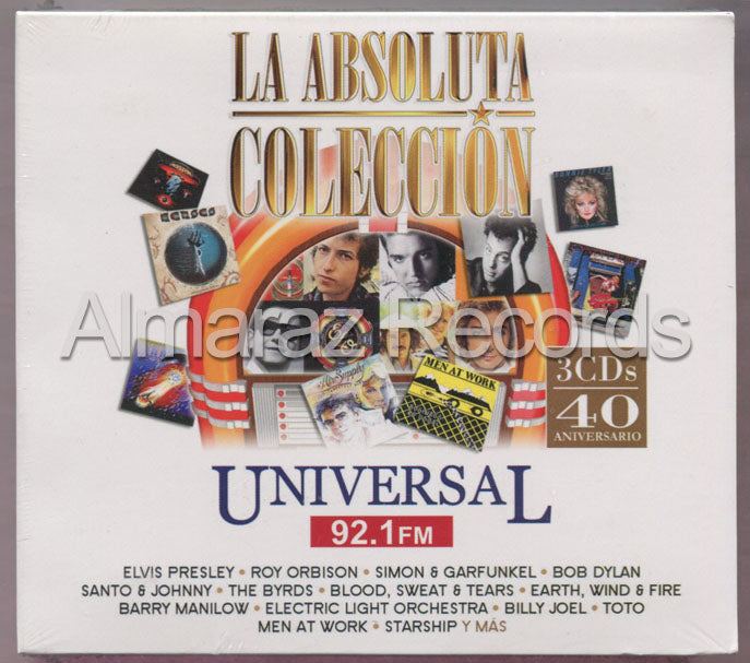 La Absoluta Coleccion Universal 92.1 FM 3CD