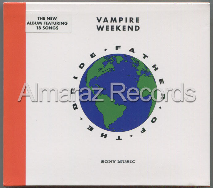 Vampire Weekend Father Of The Bride CD