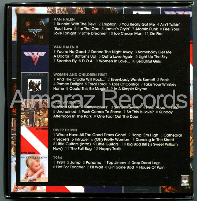 Van Halen The Studio Albums 1978-1984 6CD [Import] - Almaraz Records | Tienda de Discos y Películas  - 2