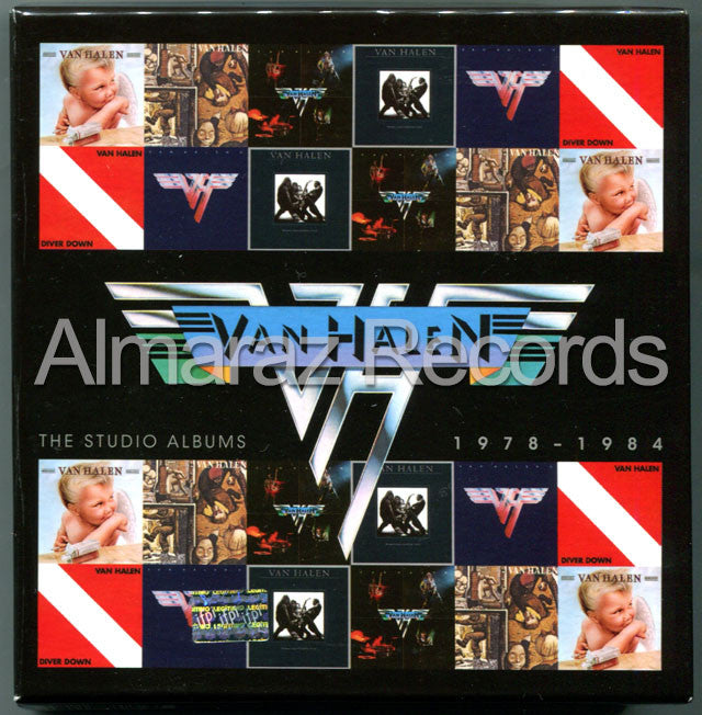 Van Halen The Studio Albums 1978-1984 6CD [Import] - Almaraz Records | Tienda de Discos y Películas  - 1