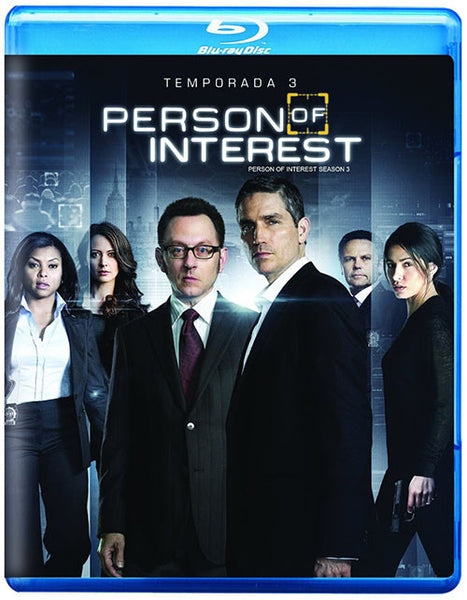 Vigilados Person Of Interest Temporada 3 4Blu-Ray - Almaraz Records | Tienda de Discos y Películas