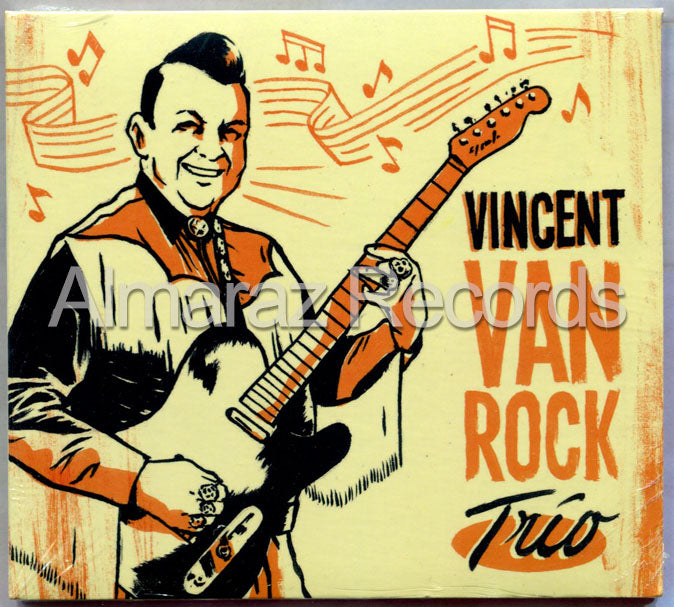 Vincent Van Rock Trio CD