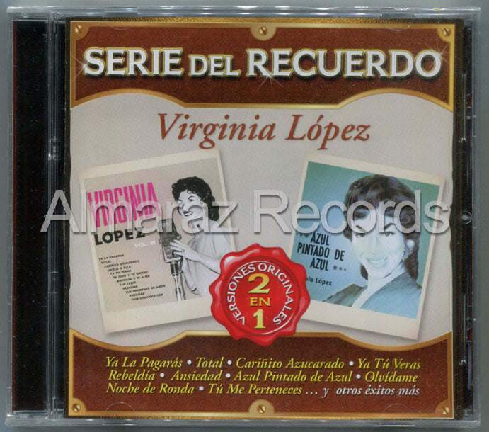 Virginia Lopez Serie Del Recuerdo 2 En 1 CD