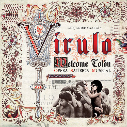 Virulo Welcome Colon CD - Almaraz Records | Tienda de Discos y Películas