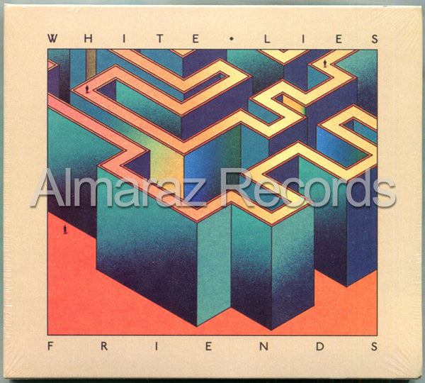 White Lies Friends CD - Almaraz Records | Tienda de Discos y Películas  - 1