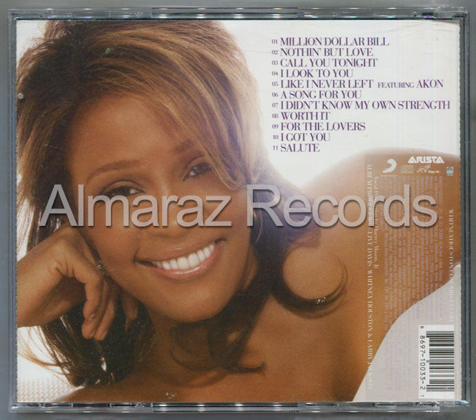 Whitney Houston I Look To You CD (Usado) - Almaraz Records | Tienda de Discos y Películas  - 2
