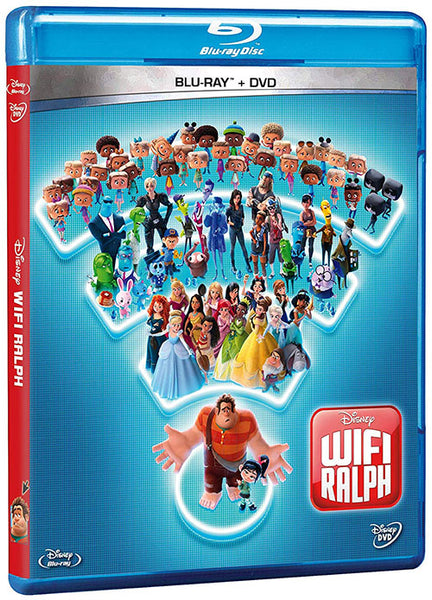 Wifi Ralph Blu-Ray+DVD