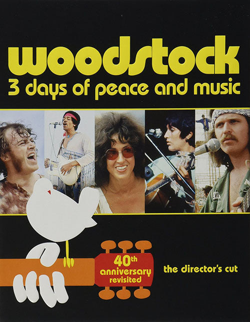Woodstock 3 Day Of Peace And Music Director's Cut Blu-Ray - Woodstock Director's Cut Uce - Almaraz Records | Tienda de Discos y Películas  - 1