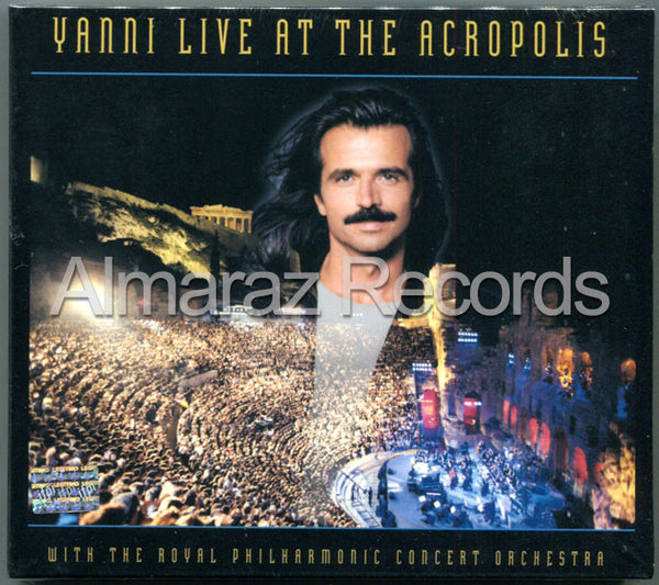 Yanni Live At The Acropolis CD+DVD - Almaraz Records | Tienda de Discos y Películas  - 1
