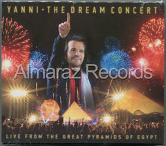 Yanni The Dream Concert Live From The Great Pyramids Of Egypt CD+DVD - Almaraz Records | Tienda de Discos y Películas  - 1