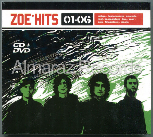 Zoe Hits 01-06 CD+DVD