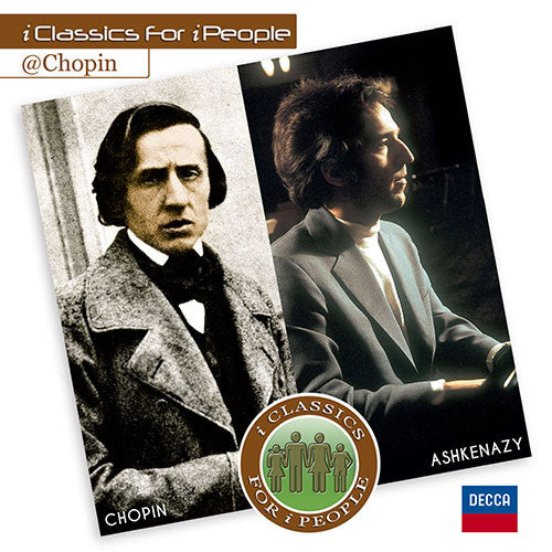 i Classics For i People Chopin By Vladimir Ashkenazy CD - Almaraz Records | Tienda de Discos y Películas  - 1