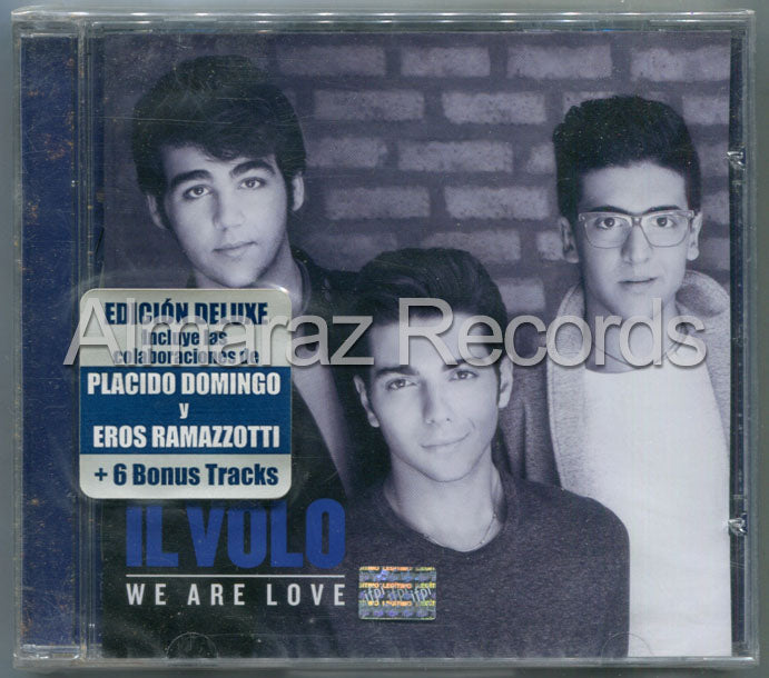 Il Volo We Are Love Deluxe CD
