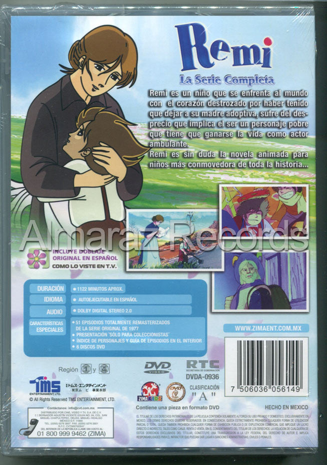 Remi La Serie Completa 6DVD - Remi The Complete Collection - Almaraz Records | Tienda de Discos y Películas  - 2
