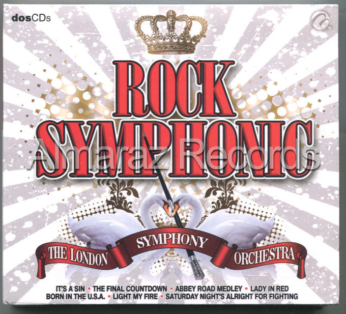 Rock Symphonic 2CD It's A Sin Born In The USA Nikita Lady In Red - Almaraz Records | Tienda de Discos y Películas  - 1
