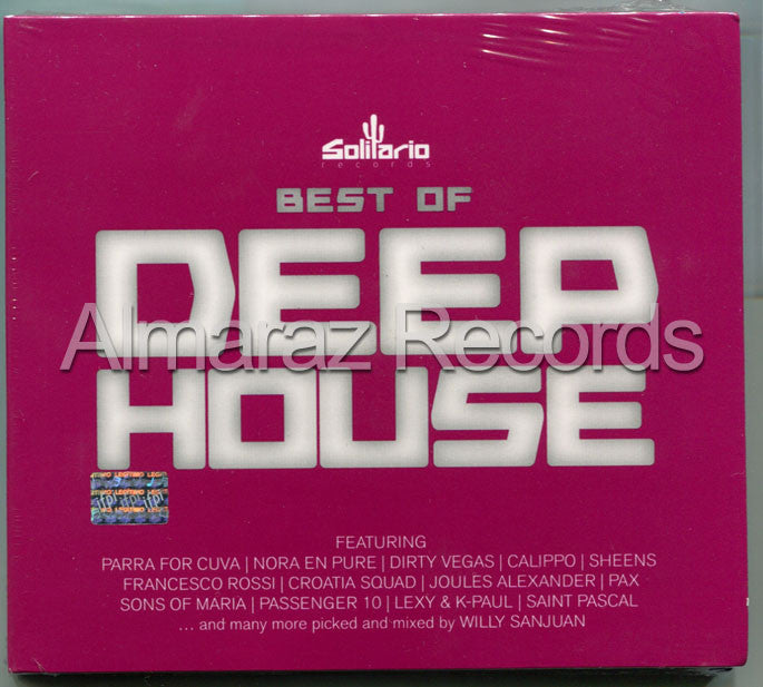 The Best Of Deep House 2CD Alex Galvan Sono Calippo Pax - Almaraz Records | Tienda de Discos y Películas  - 1