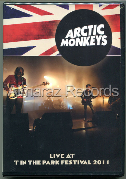 Artic Monkeys Live At T In The Park Festival 2011 DVD - Almaraz Records | Tienda de Discos y Películas  - 1