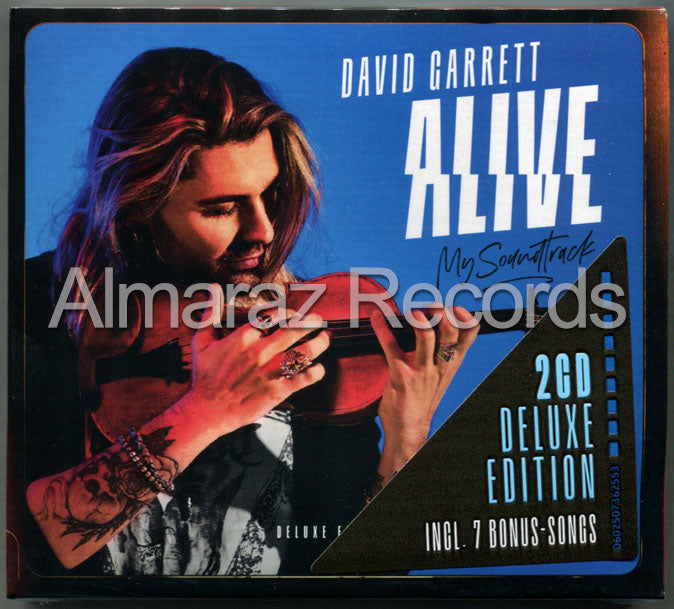 David Garret Alive My Soundtrack Deluxe Edition 2CD