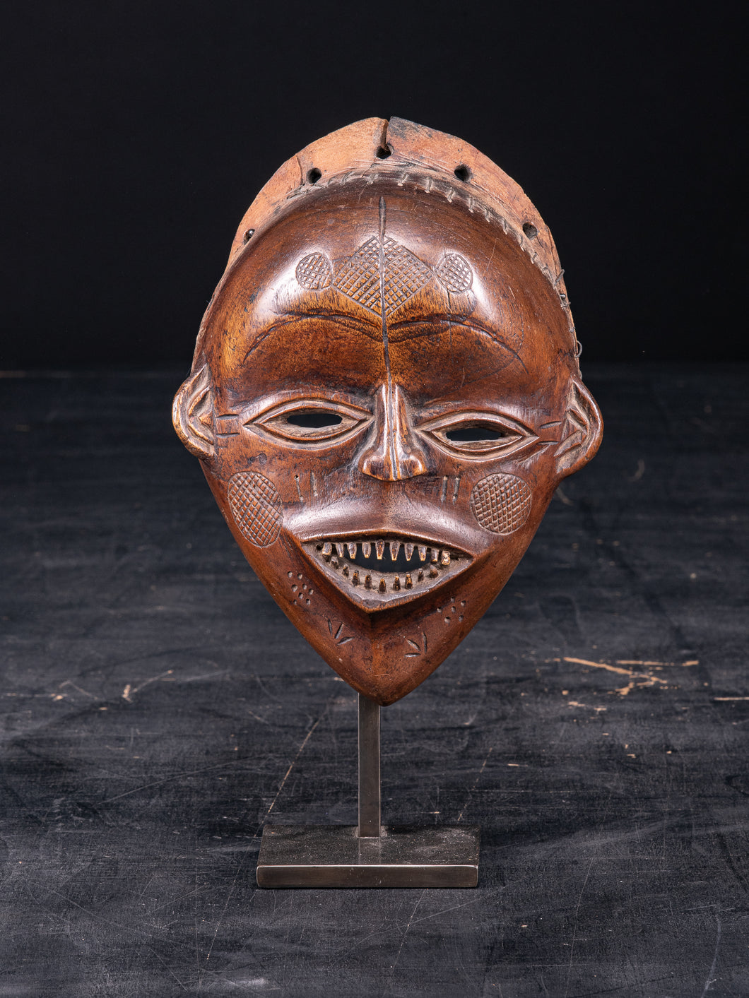 Lovale People, Zambia. Female Mask