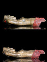 Load image into Gallery viewer, 19th C, Pair of Wooden Carved and Painted half body Carousel Female Figures, Attr. to Charles I.D Looff, 86 x 40 x24 cm, Provenance private American collection