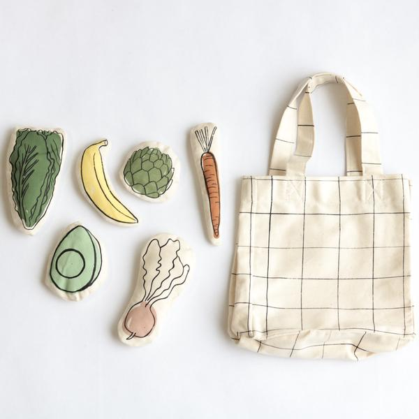 Farmers Market Toy Tote