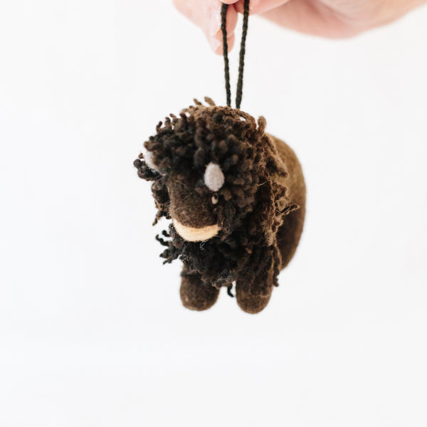 Brink Bison Ornament