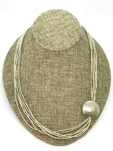 Recycled Artillery Shell Disiki Necklace