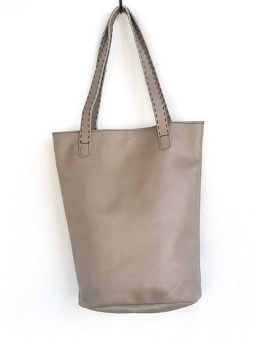 "Tan Small ""Almost"" Bucket Tote"