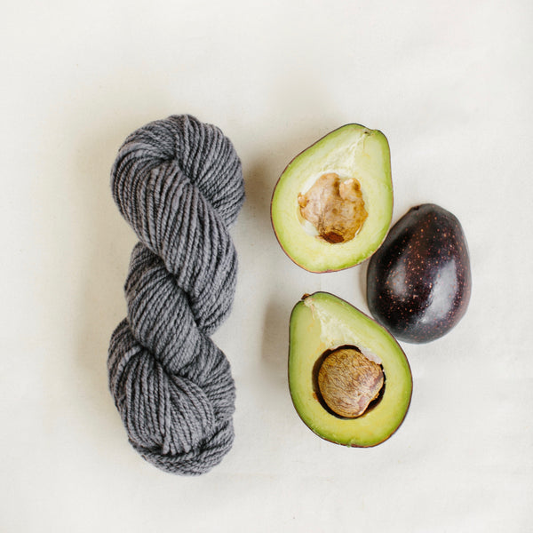 Organic Merino Wool Yarn - Voca Grey