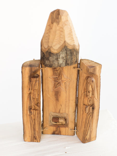 Pencil Olive Wood Nativity