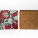 Graphic Print Coaster Set of 4