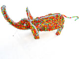 Small Wire-craft and Bead Animal Sculpture