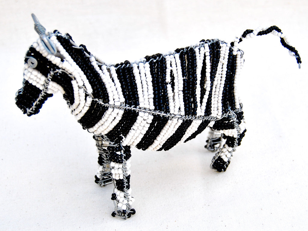 Small Wire-craft and Bead Animal Sculpture – Vineyard Marketplace