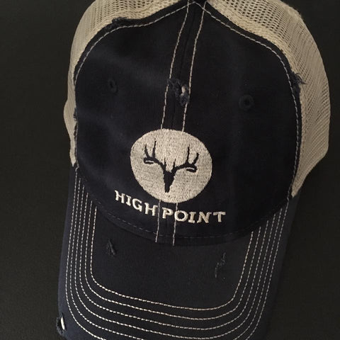 High Point Taxidermy & Skulls - Embroidery - Logo Design