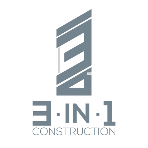 3-in-1 Construction - Logo Design/Branding